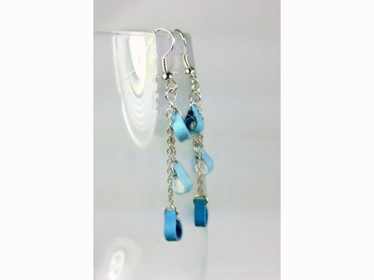 handmade earrings, dangle teardrop earrings, teardrop dangle earrings