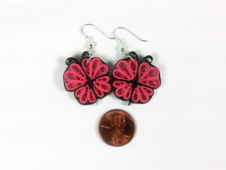 handmade jewelry, handmade butterfly, butterflies earrings, butterflies jewelry