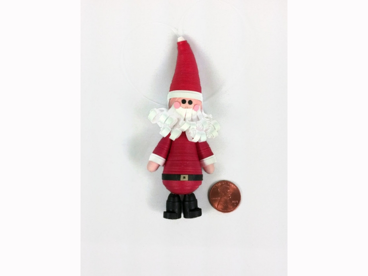 Santa Claus decorations, Santa Claus decor, handmade ornaments, handmade xmas