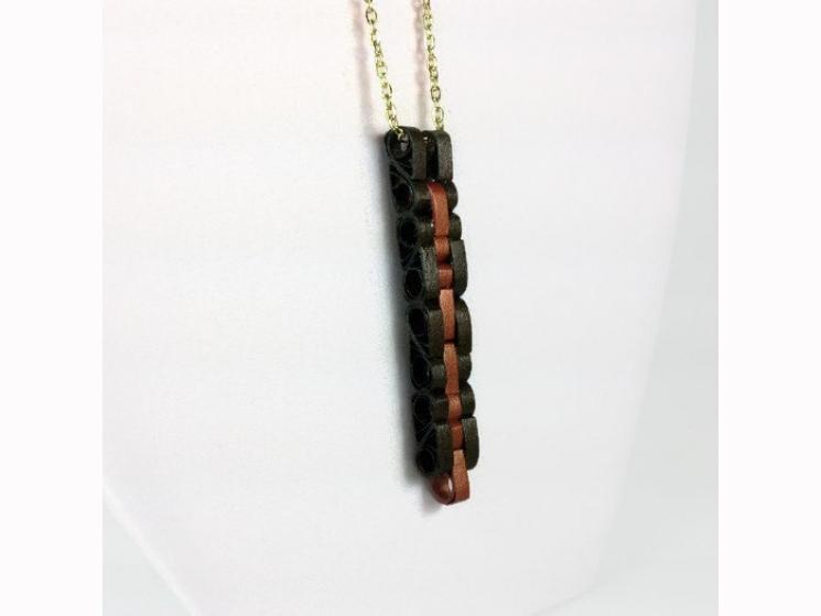 mens necklace, masculine jewelry, unisex jewelry, unisex jewellery, bronze, gold