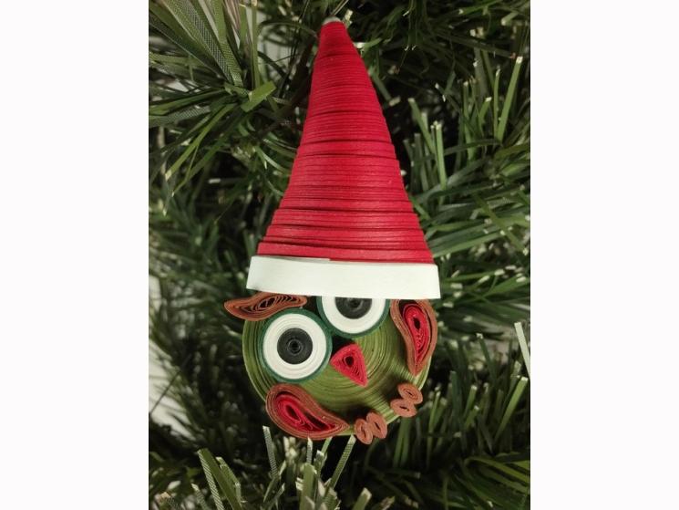 cute Christmas, Christmas ornament, cute Christmas, handmade Christmas, xmas owl