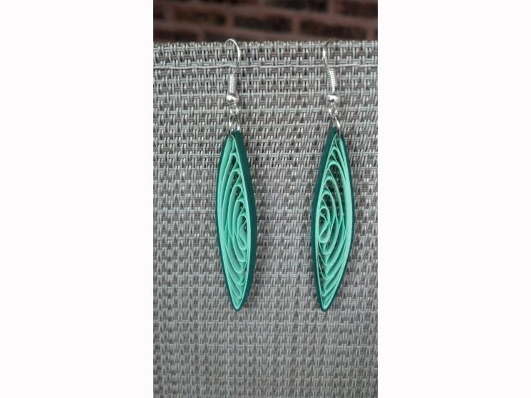 earrings for her, earrings for women, gift for her, paper anniversary