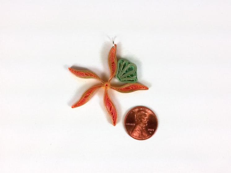 mermaid costume jewelry, orange starfish, gold starfish, yellow starfish