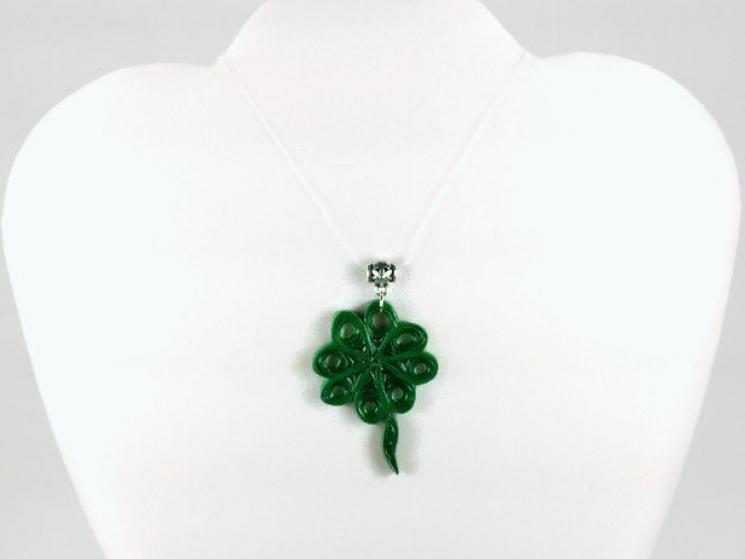 celtic pendant, shamrock pendant, irish jewelry, clover jewelry, celtic jewelry