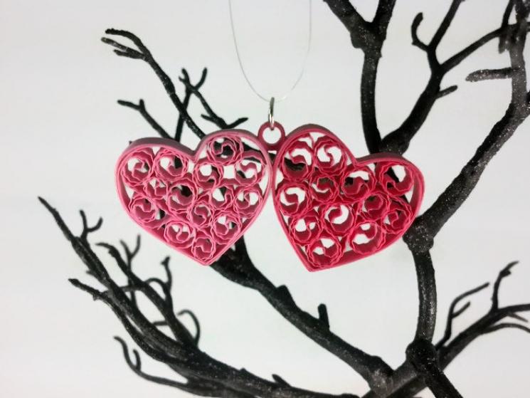 love jewelry, love gift, hearts gift, romantic gift, wedding anniversary