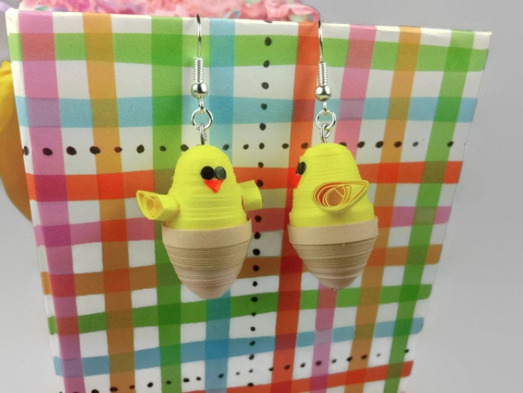 baby shower gift, easter basket, easter outfit, easter gift, easter earrings