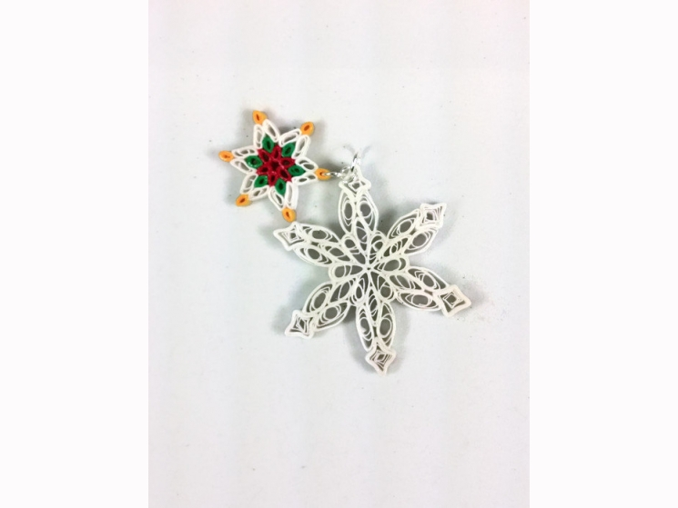 Christmas jewelry, snowflake necklace, Christmas pendant, frozen necklace