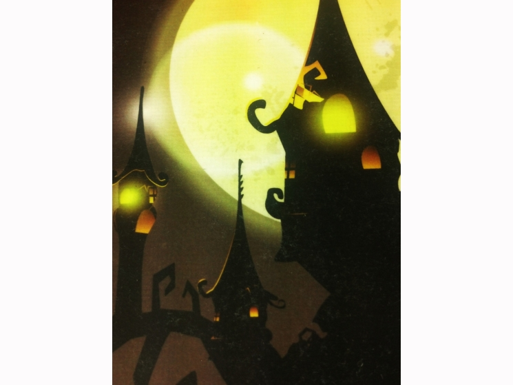 haunted house art, haunted mansion decor, haunted house wall art, Halloween art