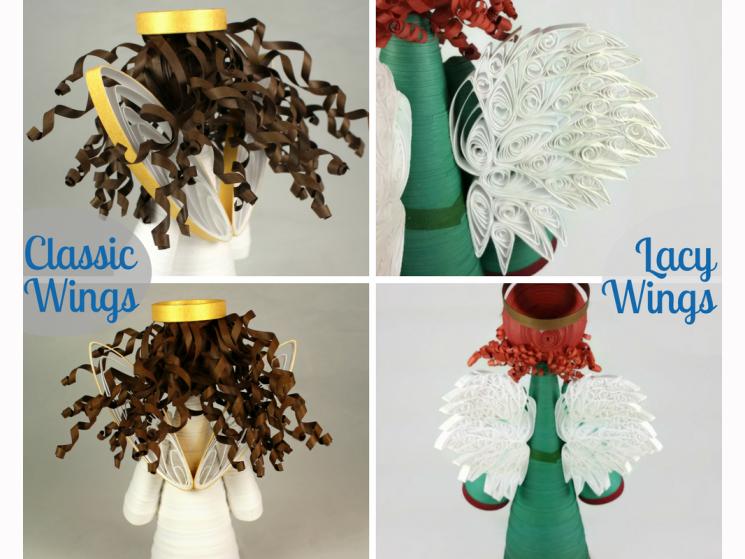 handmade Christmas ornament, custom Christmas ornament, handmade Christmas angel