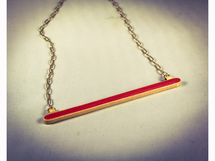 handmade necklace, handmade paper jewelry, eco fashion, unique necklace