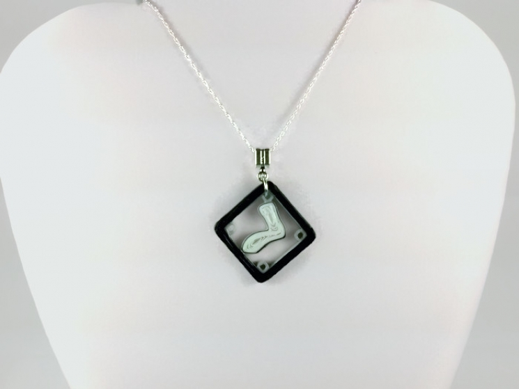 eco friendly jewelry, eco friendly necklace, water resistant, south side pride