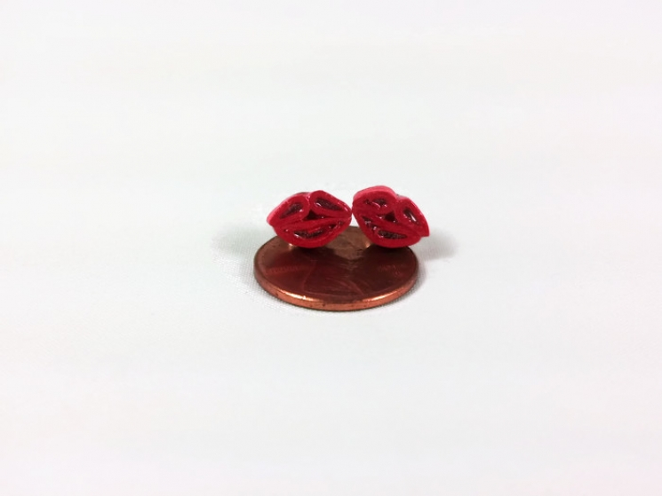 paper quilling studs images of angels
