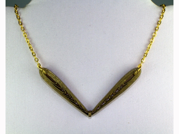 gold faerie, silver faerie, faery necklace, faery jewellery, minimal necklace