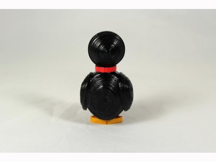penguin statue, handmade gift, penguin statuette, Chicago gift, handmade Chicago