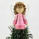 angel tree topper, black angel, Christmas decoration, african american angel