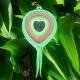 paper feather, handmade feather, handmade jewelry, handmade pendant
