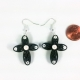 wedding earrings, catholic wedding jewelry, confirmation gift, gift for grandma