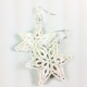 winter jewelry, snow flake jewelry, Christmas gift, Christmas outfit, paper gift