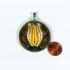 ecofriendly jewelry, paper jewelry, handmade jewelry, handmade pendant necklace