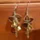 long earrings, dangle earrings, handmade jewelry, chunky earrings, long dangle