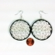 handmade jewelry, elegant earrings, unique earrings, first anniversary gift