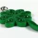 paddys day jewelry, st pats jewelry, irish pendant, clover pendant, green clover