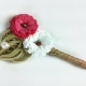 eco friendly boutonniere, eco wedding, grooms flower, groomsmen attire
