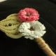 paper buttonhole, rustic buttonhole, unique boutonniere, unique buttonhole