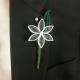 unique groom flower, rustic wedding, quilling flower, custom boutonniere