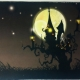 haunted mansion art, Halloween wall art ,Halloween decor, Halloween decoration