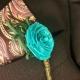 unique wedding flowers, alternative wedding flowers, alternative boutonniere