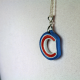 quilled necklace, handmade necklace, Chicago handmade, handmade Chicago