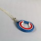 Chicago fan, Cubs fan, Cubs nation, paper quilling jewelry, paper necklace