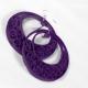 turquoise hoop earrings, purple hoop earrings, lightweight earrings, customized