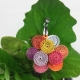 autumn pendant, spring pendant, multiple color choices, custom jewelry