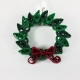Christmas brooch, handmade Christmas jewelry, handmade Christmas jewellery