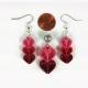 handmade jewelry, handmade earrings, valentines day gift, gift for her