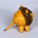 3D quilling, 3D lion, 3D paper quilling, quilling figurine, quilling animals