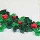Christmas mistletoe, mistletoe jewelry, holly necklace, ivy necklace, statement