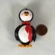 cute penguin, penguin gift, handmade penguin, 3D quilling penguin