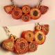 unique jewelry, handmade necklace, magazine paper necklace, alternative jewelry