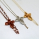 off center cross, delicate cross, intricate cross, horizontal cross, eco chic