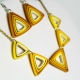 statement jewelry, geometric jewelry, art deco jewelry, modern jewelry