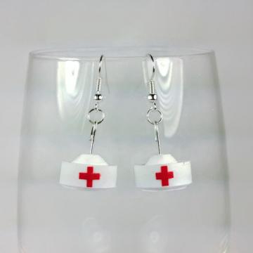 nurse jewelry, nurse graduation gift ideas, nurse accessories, dangle nurse