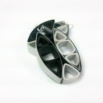 paper quill earrings, quilling jewelry, black statement earrings, grey earrings