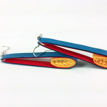 long flame earrings, long earrings, flames earrings, paper quilling earrings
