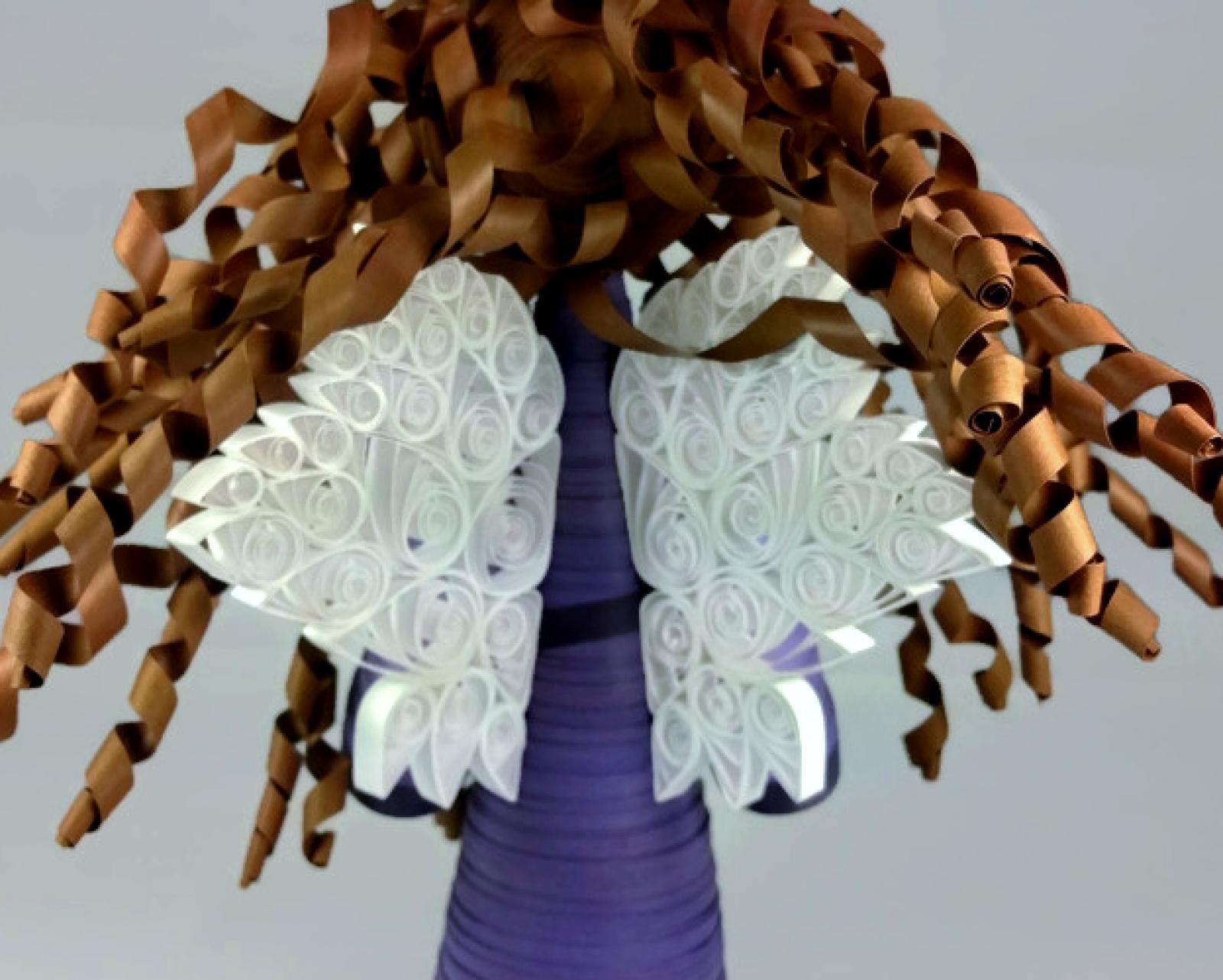 Handmade Angel Tree Topper Large