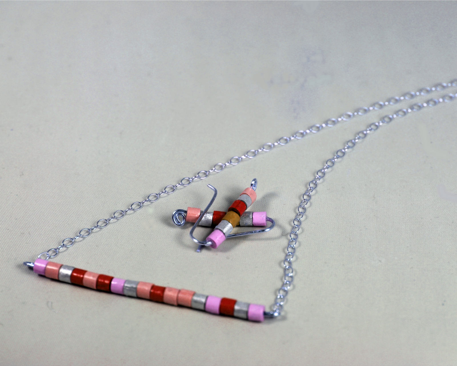 Eco-Friendly Paper Quill Beads Jewelry Set   Sweethearts and Crafts