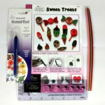 Paper Quilling Kit, Beginners Kit for Quilling