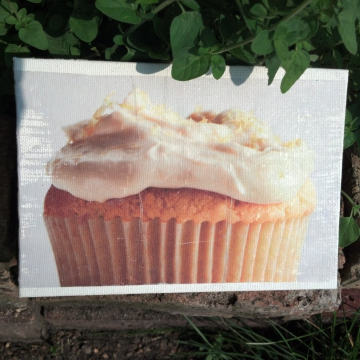 Frosted Cupcake Kitchen Decor Sign